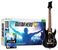 GUITAR HERO LIVE + GUITARRA XBOX 360 EN CASTELLANO NUEVO PRECINTADO XBOX 360