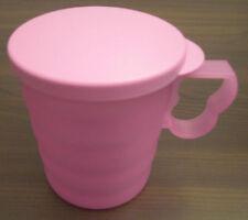 Tupperware J 25 Junge Welle Tasse 350 ml mit Deckel Flieder Lila Violett Neu