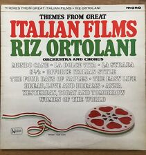 Riz Ortolani ‎– Made In Rome - Themes From The Great Films, USA LP, UAL 3360,