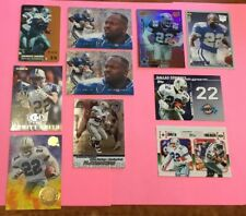 Emmitt Smith SP Lot w/ Proline Intense Phone Card & More! (Dallas Cowboys)