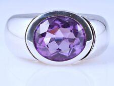 Designer Ring 5,00 Karat Amethyst 750 Gold 18 Karat ca. 26,70 Gramm