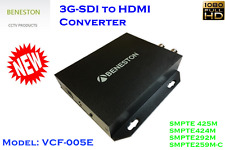 BENESTON 3G-SDI to HDMI Converter/with Up Down Scaling/ Broadcast/ CCTV/Relock