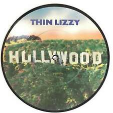 """THIN LIZZY - HOLLYWOOD / PRESSURE WILL BLOW 1981 PICTURE DISC 7"""" EX+"""
