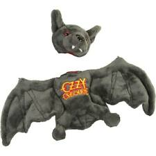 More details for ozzy osbourne plush bat with removable head soft toy black sabbath halloween new