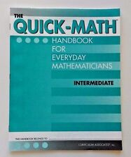 New! Quick-Math Terms/Concepts & Visuals Reference Book (3rd-5th Grade 3 4 5)