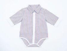 Karierte Baby-T-Shirts, - Polos & -Hemden aus 100% Baumwolle für Jungen