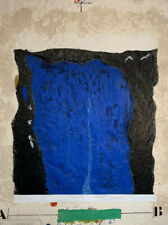 "Unframed Carborundum By James Coignard   ""Etude Masse Bleu"" Pencil Signed"