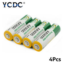 BTY 4Pcs AA 3000 mAh Pre/Stay Charge Ni-MH Cells Rechargeable Batteries Set B26