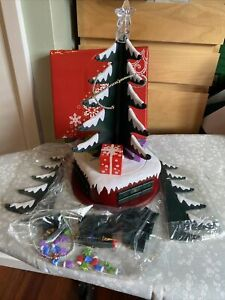 Avon Musical Advent Christmas Tree Table Decoration