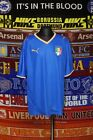 "4.5/5 Italy boys YXL 164cm 32-34"" XS 2007 football shirt jersey camiseta soccer"