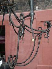 VINTAGE Araña de Cristal Diseño Barroco ROCOCO Lámpara de techo weinkeller