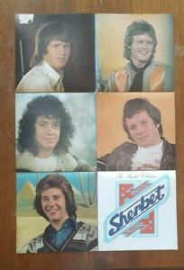 """SHERBET POSTER -from the """"THE SHERBET COLLECTION """" album of 1976"""