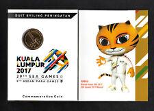Card Coins 2017 Malaysia 29th Sea games 9th Asean Para games Nordic gold Coin
