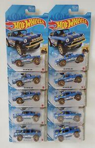 Lot 10 Hot Wheels Kroger Exclusive Blue Bf Goodrich Big-Air Bel-Air 55 Chevy 4x4