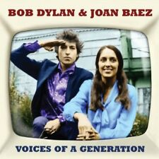 Voices Of A Generation - 2 DISC SET - Bob & Joan Baez Dylan (2013, CD NEUF)