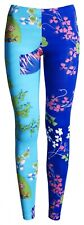 Versace for H&M Blue Leggings Floral Pattern UK 16 US 12 EU 42 New Tags