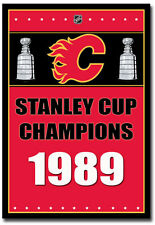 "Calgary Flames Stanley Cup Champions NHL Fridge Magnet Size 2.5"" x 3.5"""