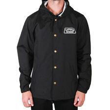 BNWT capitán aleta Co. el Plato Chaqueta de Abrigo Negro Pequeño entrenadores