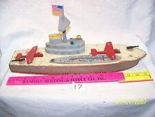 "#17, 1940's Keystone U.S.N. ship with plain launcher,15 -1/2"" L,  used"