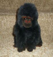 TY VINTAGE 1995 CLASSIC BABY GEORGE THE GORILLA BLACK STUFFED ANIMAL PLUSH TOY
