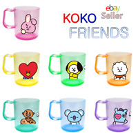 BTS BT21 Official K-POP Character Gargle Bathroom Acrylic Cup MD Authentic Goods