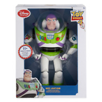"12"" Disney Toy Story 4 Buzz Lightyear Talking Action Figure Disney Store NEW!"