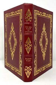 Stephen Crane - Red Badge of Courage - Easton Press FULL LEATHER