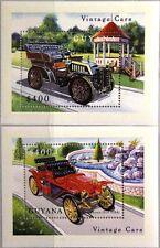 GUYANA 2000 Block 627-28 Vintage Cars Oldtimer Autos Runabout Turner Miesse MNH