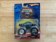 """2006 Hot Wheels Monster Jam """"BLUE THUNDER"""" 1:64 Scale #11 Truck NIB"""