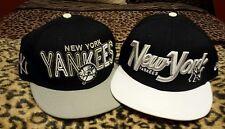 "New York Yankees LOT OF 2 strapback hats, caps .."" New"" New Era 9fifty ⚾"