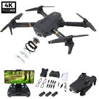 2020 Foldable Mini RC Quadcopter Drone With Gesture Control 4K HD Dual Camera