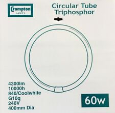Crompton Circular 60w 16″ Cool White 840