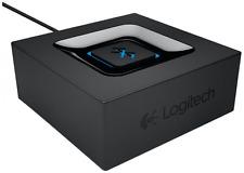 Logitech Multipoint Bluetooth Audio Adapter schwarz 1-Push-Pairing-Taste