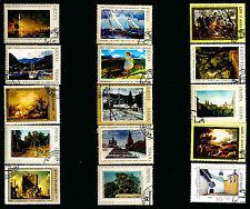 RUSSIE-URSS  Paysages,Sites,sous-bois,tableaux nature   282T6