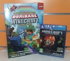 Minecraft PS4 NUOVO SIGILLATO ITA + Guida Strategica IV Edizione NUOVA SIGILLATA