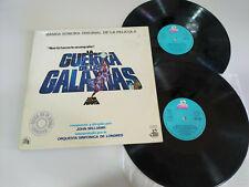 "La Guerra de las Galaxias Star Wars 1977 Spain Edit 2 x LP Vinilo 12"" VG/VG"