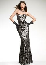 BNWT Forever Unique Fontanne Baroque Embellished Fishtail Gown Maxi Dress UK10