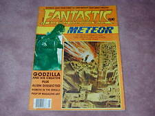 Fantastic Films magazine # 13, Godzilla, Pulp Science Fiction art, Alien
