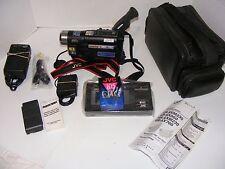 JVC VHS-C Camcorder GR-AXM230U  Compact  Bundle GR-AXM230  VGUC