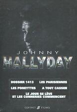 Johnny Hallyday : 5 Films (5 DVD)