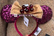 Disney Epcot Food & Wine Festival 2020 Grapes Cork Mickey Minnie Ears Headband