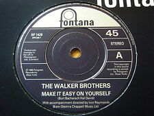 """WALKER BROTHERS - MAKE IT EASY ON YOURSELF  7"""" VINYL"""