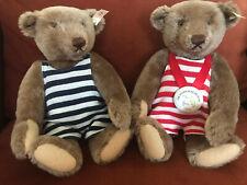 Steiff Bears 1996 Teddy Bear Museum Rare Pair