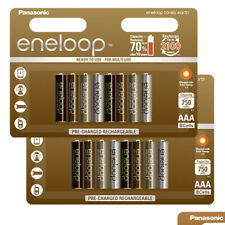 16 Panasonic Eneloop EARTH Tones AAA batteries 750mAh Rechargeable NiMh BK-4MCCE