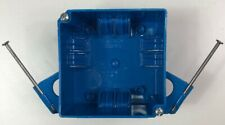 """Carlon Lamson & Sessons B432A-Upc 4"""" Square 32 Cubic Inch 4 Gang Switch & Outlet"""
