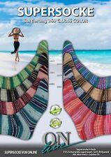 Sockenwolle Caras Color von ONline 100 g Farbwahl