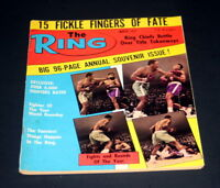 THE RING BOXING MAGAZINE MARCH 1972 MUHAMMAD ALI VS JOE FRAZIER
