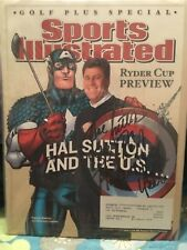 HAL SUTTON SIGNED 2004 SPORTS ILLUSTRATED/RYDER CUP PREVIEW/1983 PGA PLAYER YEAR