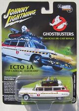 JOHNNY LIGHTNING GHOSTBUSTERS ECTO-1A 1959 CADILLAC SILVER SCREEN MACHINES * NEW