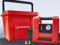 Pompe Per Vuoto Bistadio Rothenberger R32 Roairvac 1.5 CFM 42 l/min + Valigetta